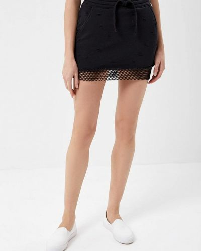 Черная юбка Met