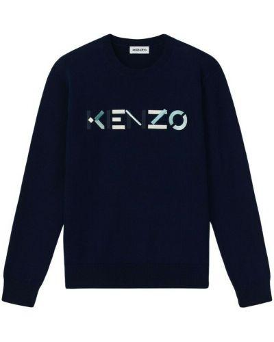 Niebieski sweter Kenzo
