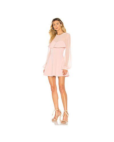 5a335536f8f Платье мини свободного кроя с прозрачными рукавами Privacy Please