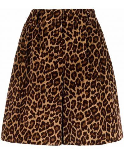 Хлопковые шорты - коричневые Pt01