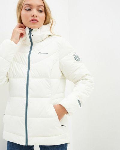 Бежевая теплая утепленная куртка Outventure