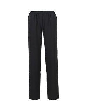 Черные брюки с воротником Seven Lab