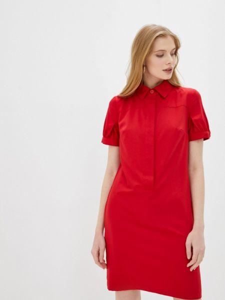 Платье прямое красный Likadis