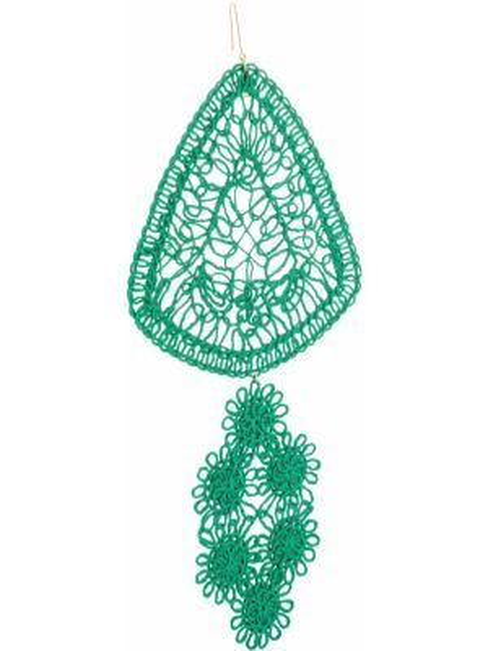 Kolczyki zielony Stella Mccartney