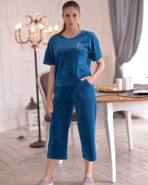 Домашний костюм летний велюровый Mix-mode