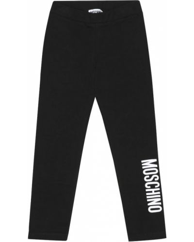 Legginsy z logo Moschino Kids