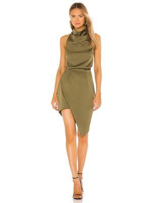 Свободное деловое зеленое платье Elliatt