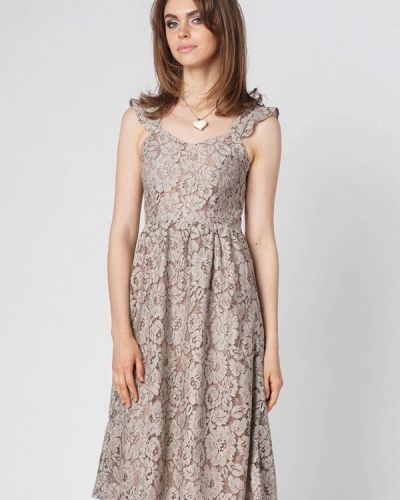 Вечернее платье - бежевое Oks By Oksana Demchenko