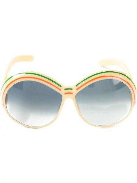 Солнцезащитные очки круглые винтажные Christian Dior