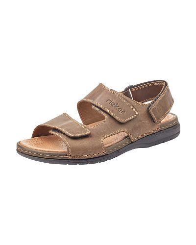 Коричневые сандалии Rieker