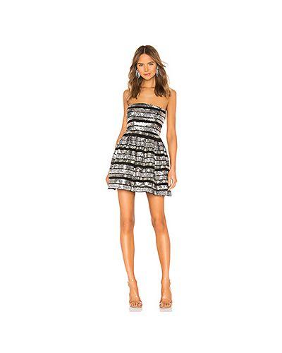 Платье с декольте с бисером X By Nbd