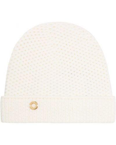 Вязаная шапка с помпоном бини с отворотом Loro Piana