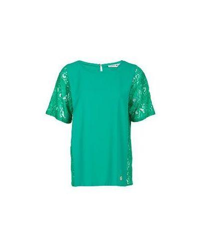 Блузка зеленый вечерняя Frankie Morello