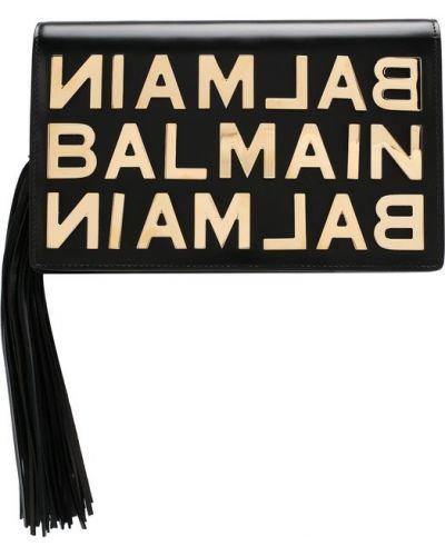 Кожаный сумка вечерняя Balmain