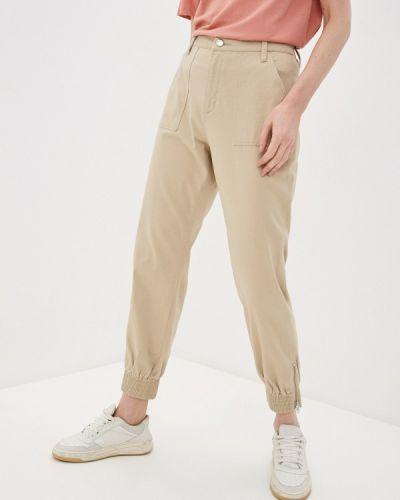 Повседневные бежевые брюки Q/s Designed By