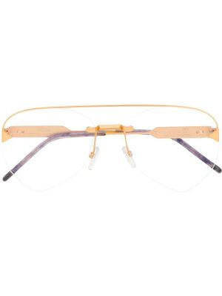 Złote okulary So.ya