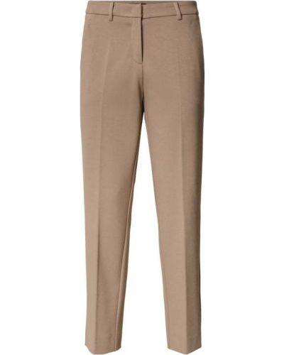 Beżowe spodnie materiałowe Cambio