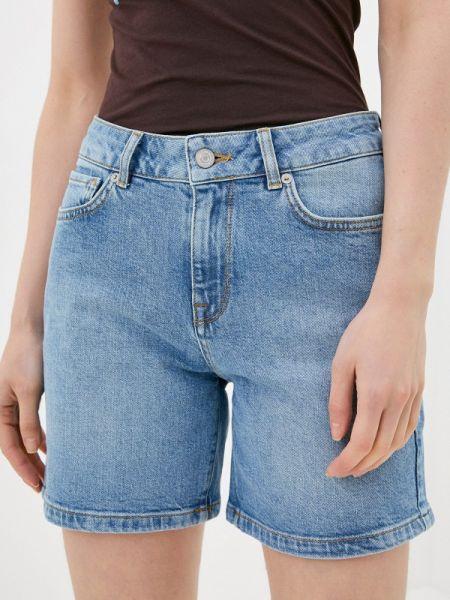 Джинсовые шорты синий Selected Femme
