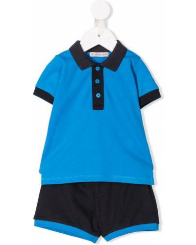 Рубашка синий Moncler Kids