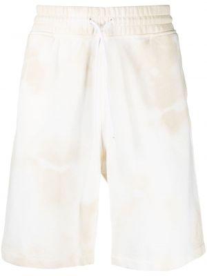 Ze sznurkiem do ściągania bawełna bawełna szorty z kieszeniami Marcelo Burlon County Of Milan