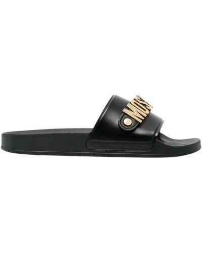 Sandały - czarne Moschino