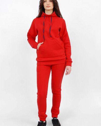 Спортивный костюм красный Sab