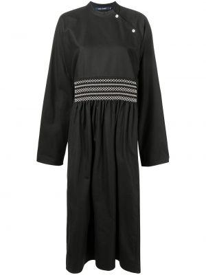 Хлопковое платье миди - черное Sofie D'hoore