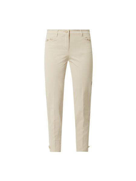 Beżowe spodnie bawełniane Rosner