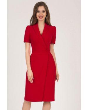Повседневное платье красный оливковый Olivegrey