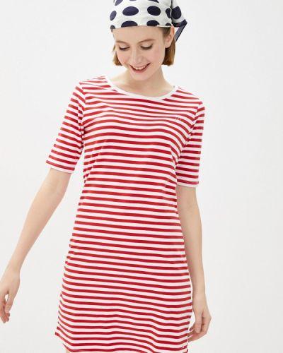 Красное платье Luhta