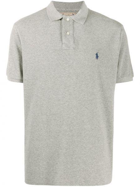 Koszula krótkie z krótkim rękawem z kołnierzem ciemny Polo Ralph Lauren