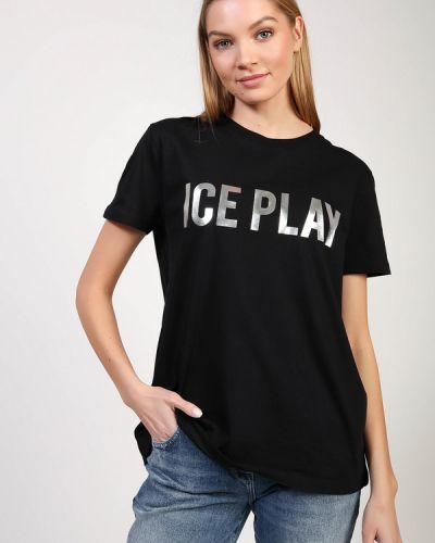 Хлопковая футболка Ice Play