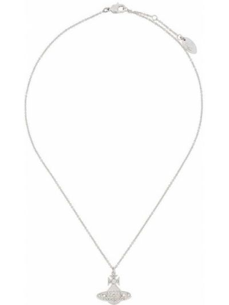 Ażurowy naszyjnik srebrny Vivienne Westwood