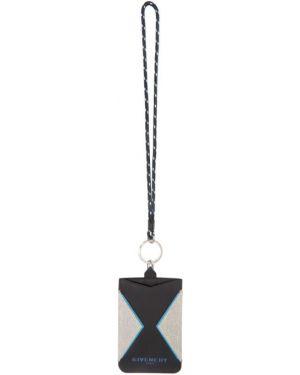 Etui na klucze skórzany czarny Givenchy
