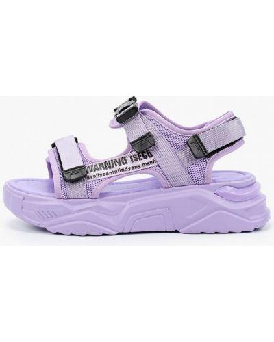Фиолетовые текстильные сандалии Dino Ricci Trend