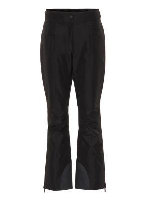 Свободные брюки утепленные расклешенные Moncler Grenoble