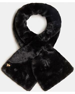Komin wełniany - czarny Guess