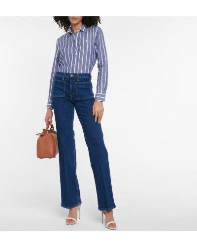 Niebieska koszula w paski Polo Ralph Lauren