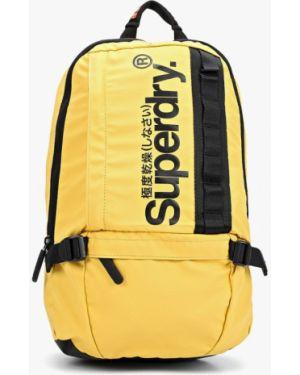 Рюкзак городской желтый Superdry