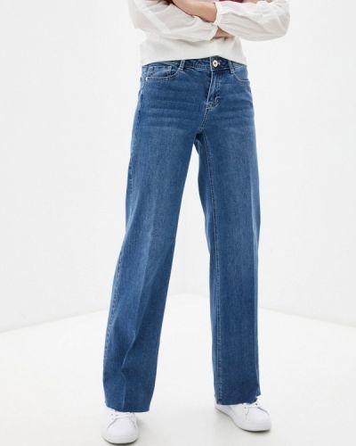 Синие прямые джинсы Taifun