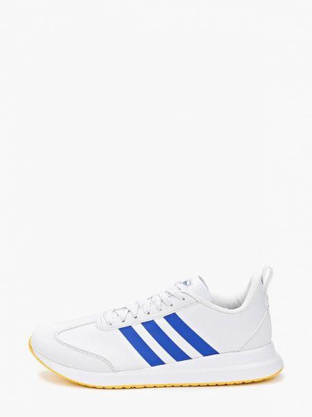 Белые текстильные кроссовки Adidas