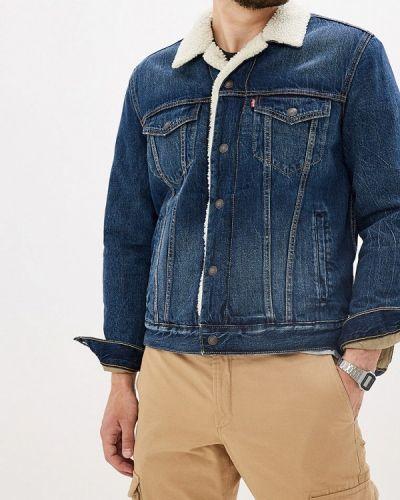 Джинсовая куртка осенняя синяя Levi's®