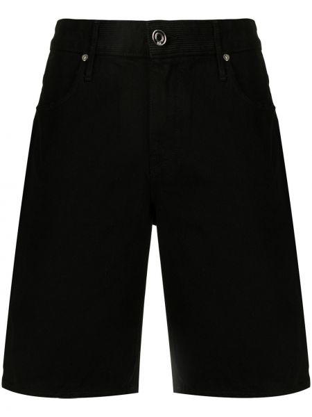 Czarne klasyczne jeansy Rta