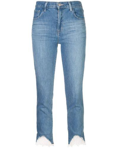 Прямые джинсы с карманами с логотипом J Brand