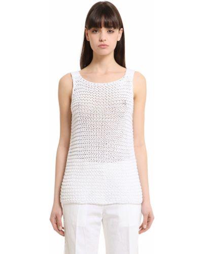 Майка - белая Calvin Klein Collection