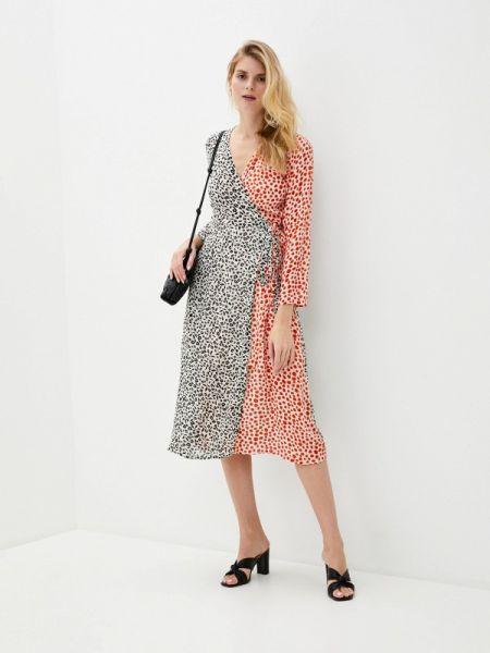 Платье с запахом весеннее Compania Fantastica