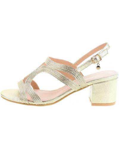Sandały skórzane Primamoda
