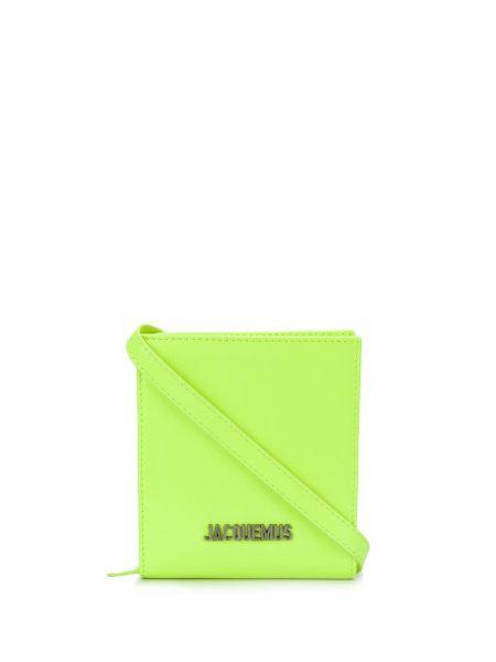 Желтый кошелек Jacquemus