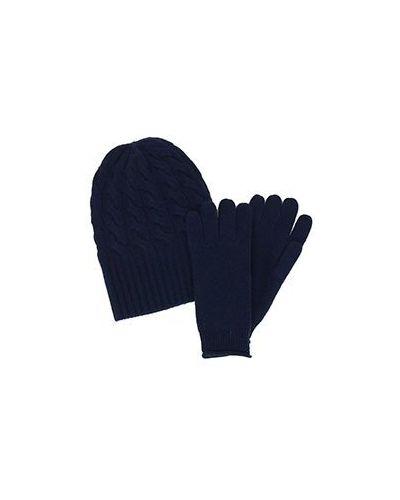 Перчатки синий Not Shy