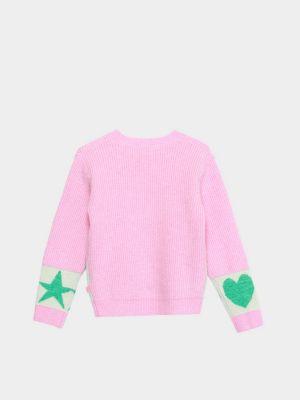 Пуловер с вырезом - розовый Billieblush
